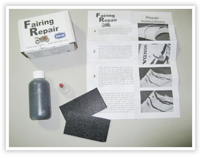 Abs Plastic Repair Kit >> Easy Abs Fairing Repair Kit Easy Abs Plastic Repair
